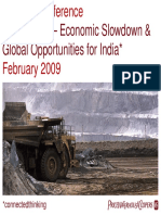 Economic Downturn & Coal Mining Sector in India Dipesh PwC