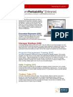 iLearnReliability [Enterprise] topic details
