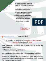 2da SESIÓN de Finanzas