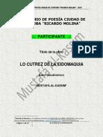 (2012) Ene Lo Cutrez de La Eidomaquia