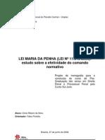 Lei Maria Penha Cl%c3%Adcie Ribeiro