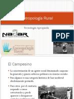 Antropología Rural y Tecnología Apropiada