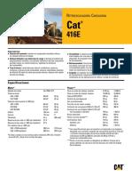 Cat Retroexcavadora 416e