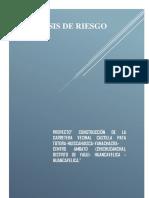 Indice Analisis de Riesgo
