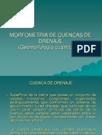 Morfometria para ciencias naturales