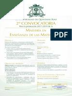 2DA. Convocatoria MEM_2017
