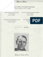 缪勒 24首简单练习曲 -Vingt-Quatre-Etudes-Faciles-Marcel-Mule.pdf
