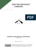 Handbook for Nonviolent Campaigns - War Resisters' International