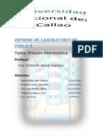 Informe 6 de Laboratorio de Física II