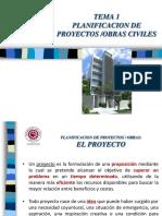 Tema 1 Planificación Obras Civiles