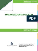 5. Organizaciones de Salud
