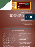 Demostracion Pensamiento Reflexivo y Critico.2015