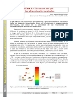 Tema 08. El Control de PH y Los Alimentos Fermentados
