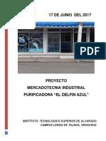 Mercadotecnia Industrial Purificadora El Delfin Azul