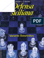 83-Defensa Siciliana. Variante Sveshnikov - A. Adorjan y T. Horvath