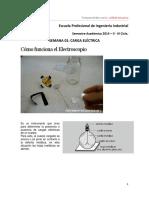 Laboratorio 01 - Cómo Funciona El Electroscopio