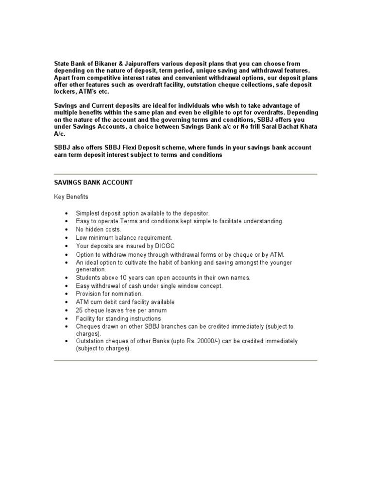Sbbj Personal Loan Form Pdf