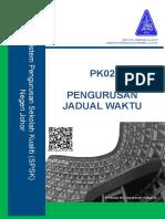 Pk02 Pengurusan Jadual Waktu
