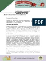 Estudio de Caso Sostenibilidad de La Organización (1)