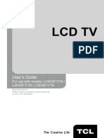 Tcl Tv Manual - Lhdf11ta_um
