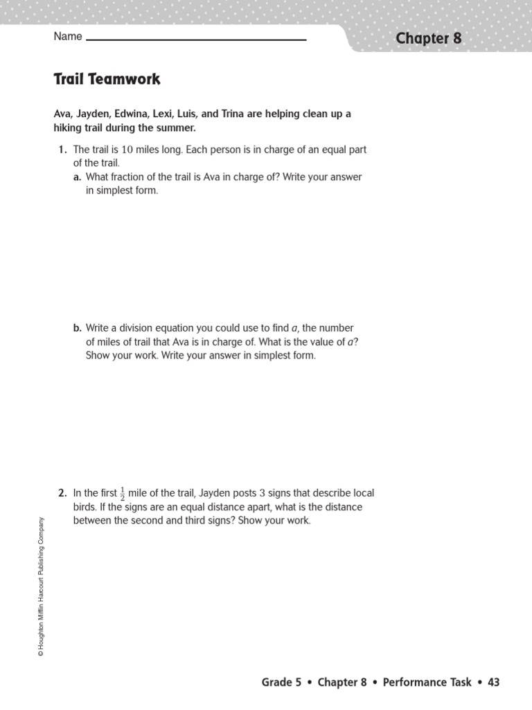 Dividing Fractions Performance Task | Division (Mathematics ...