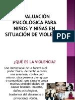 Niños Situación de Violencia
