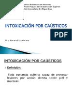 Intoxicación Por Caústicos