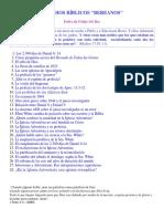 """Pedro Felipe Del Rey - Estudios Bíblicos """"Bereanos"""""""