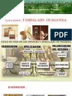 Envase y Embalaje de Madera
