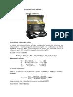 Cálculo a Partir Del Analizador de Gases Imr 1400