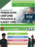 PEMAKAIAN UNIFORM PEGAWAI & KADET KRS.pdf