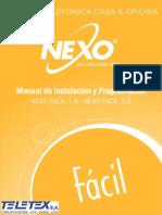 FACIL Manual de Instalacion y Programacion