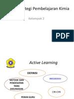Strategi Pembelajaran Kimia - PRESENTASI