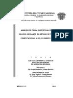 Analisis de Falla Superficial en Cuerpos Solidos Mediante El Metodo de Termografia[1]