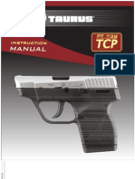 Taurus 738 TCP Pistol Manual
