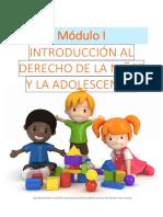 Derecho de la Niñez y de la Adolescencia Módulo I