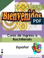 Ingreso a Bachillerato Español
