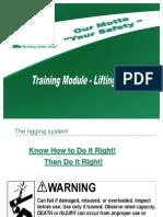 Training Module - Lifting & Rigging