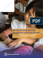MYANMAR COUNTRY PARTNERSHIP FRAMEWORK  FOR THE PERIOD 2015-2017