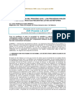 La Revitalización Del Proceso Civil Español e Ingles (Franci