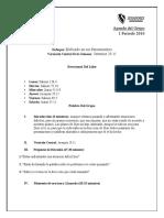 April Spanish Agenda 2016