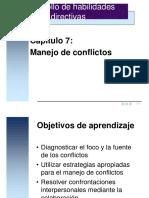 Leccion 07 Manejo de Conflictos