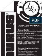 Taurus Metallic Pistol Manual [1]