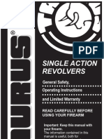 Taurus Single Action Revolver Manual [1]