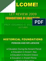 2009 Let-prof Ed.