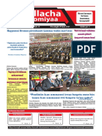 Odp Fi Abon Waliigalan: Guyyaan Daa'Imman Addunyaa Yeroo 29