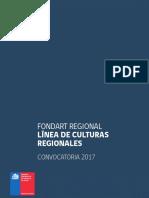 Fondart Regional Culturas Regionales 2017