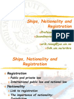 Ships, Nationality and Registration