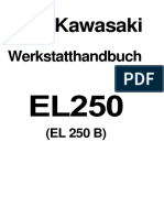 Kawasaki EL250 Eliminator Service Manual GER