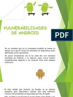 Vulnerabilidades de Android